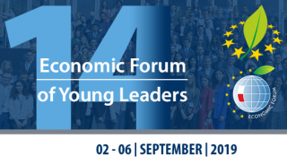 "Konferencija ""14th Economic Forum of Young Leaders"" Lenkijoje nuotrauka"